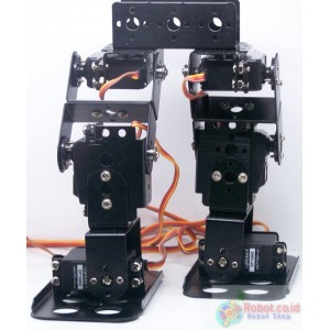 Arduino Biped Robot BRAT 6 DOF Robotic Kit Ready To Run